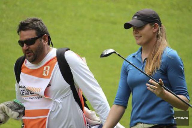 La golfeuse sherbrookoise Maude-Aimée Leblanc est actuellement classée... (Archives, La Tribune)