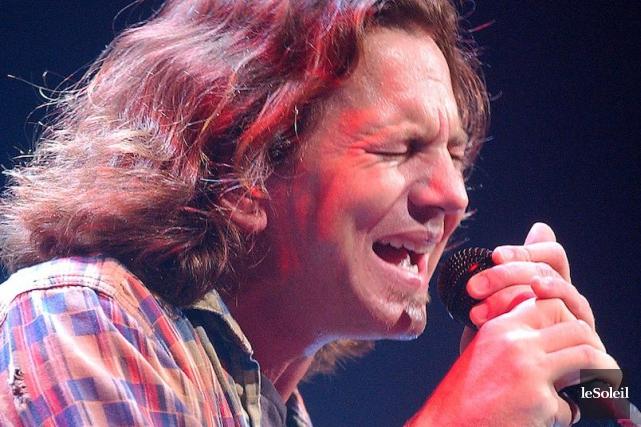 Eddie Vedder... (Photothèque Le Soleil, Jean-Marie Villeneuve)
