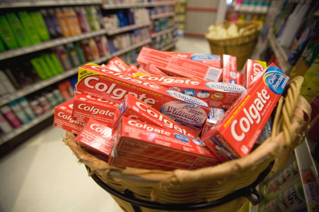 Le chiffre d'affaires de Colgate-Palmolive, à 16,03 milliards... (PHOTO TOM STARKWEATHER, ARCHIVES BLOOMBERG)