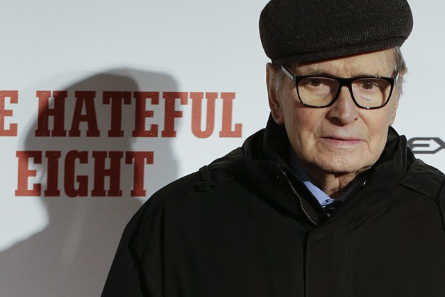 Ennio Morricone... (PHOTO ARCHIVES AP)