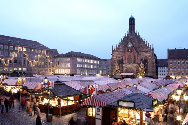 Nuremberg et son marché de Noël... (PHOTO THINKSTOCK)