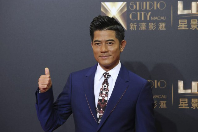 L'acteur Aaron Kwok... (PHOTO AP)
