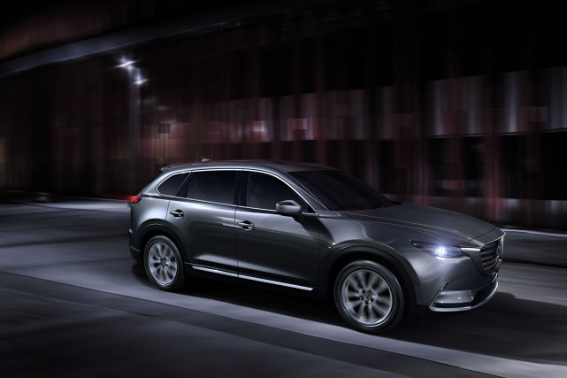 Le Mazda CX-9 2016... (Photo fournie par Mazda)
