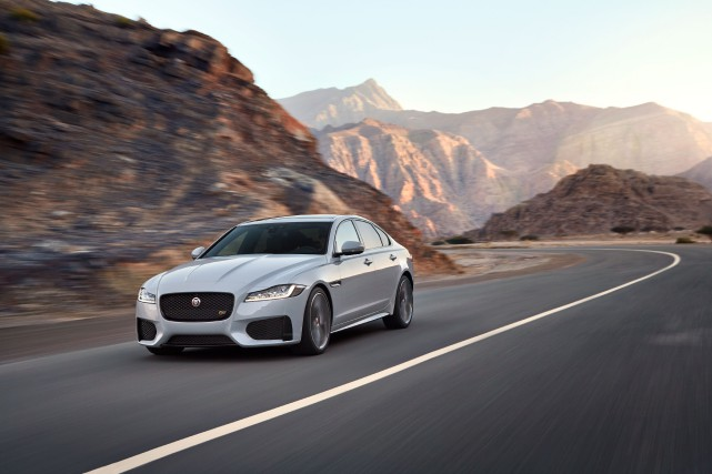 Jaguar XF... (PHOTO FOURNIE PAR LE CONSTRUCTEUR)