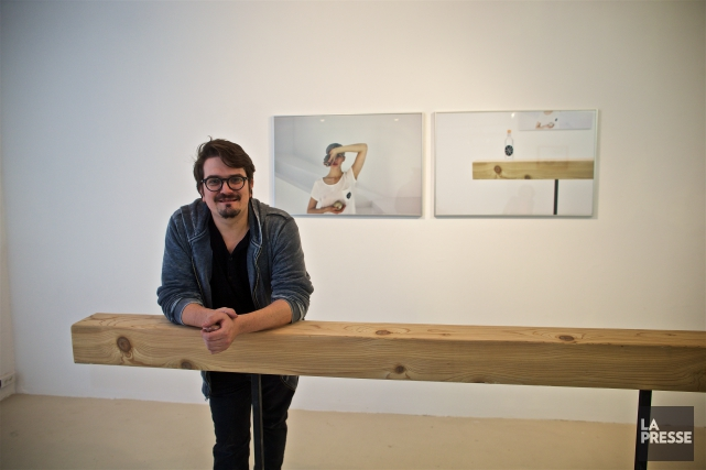 Âgé de 32 ans, l'artiste Mathieu Cardin crée... (PHOTO ANDRÉ PICHETTE, LA PRESSE)
