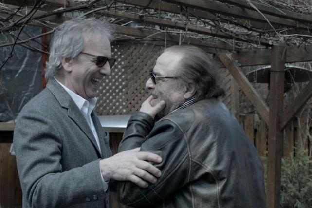 Michel Côté et Dino Tavarone dans une scène... (PHOTO FOURNIE PAR LA PRODUCTION)