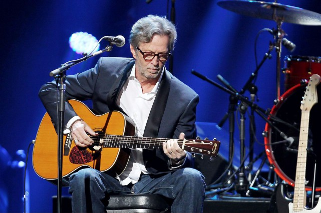 Dans la version de son album Unplugged, Eric Clapton aurait... (Archives AP, Dave Allocca)