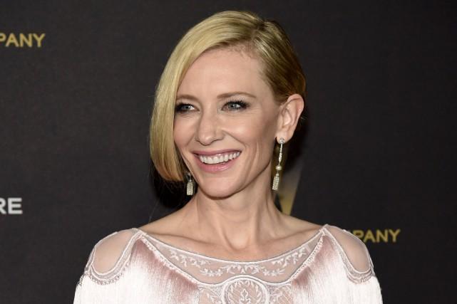 Cate Blanchettjouera dans Platonovd'Anton Tchekhov.... (AP, Chris Pizzello)