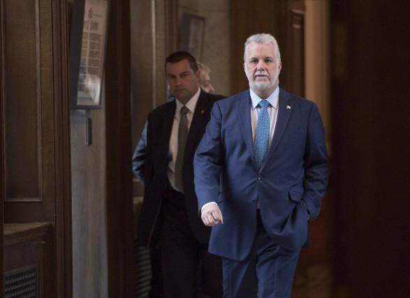Le premier ministre du Québec, Philippe Couillard... (Photo Jacques Boissinot, La Presse Canadienne)