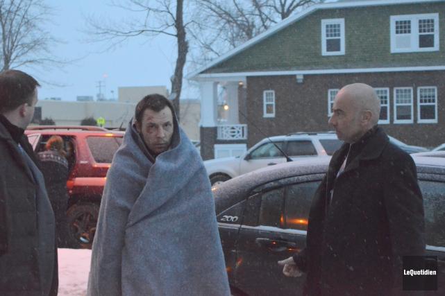 David Asselin devra répondre du meurtre de Gilles... ((Photo Le Quotidien Louis Potvin))