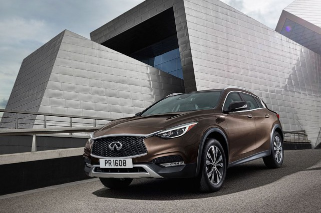 Infiniti QX30... (PHOTO FOURNIE PAR INFINITI)
