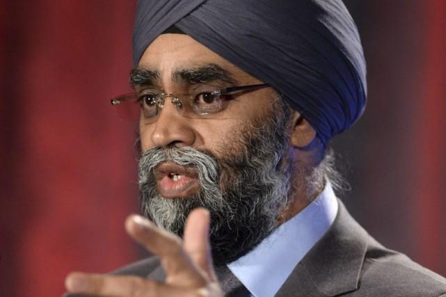 Le ministre canadien de la Défense,Harjit Sajjan.... (Photo Sean Kilpatrick, archives PC)