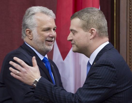 Philippe Couillard a désigné Luc Fortin comme ministre... (La Presse Canadienne)