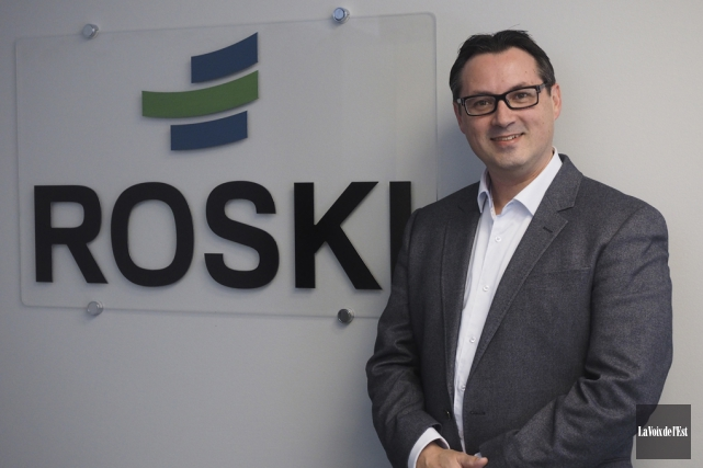 Le président-directeur général de Roski, Yves Carbonneau.... (Alain Dion, La Voix de l'Est)
