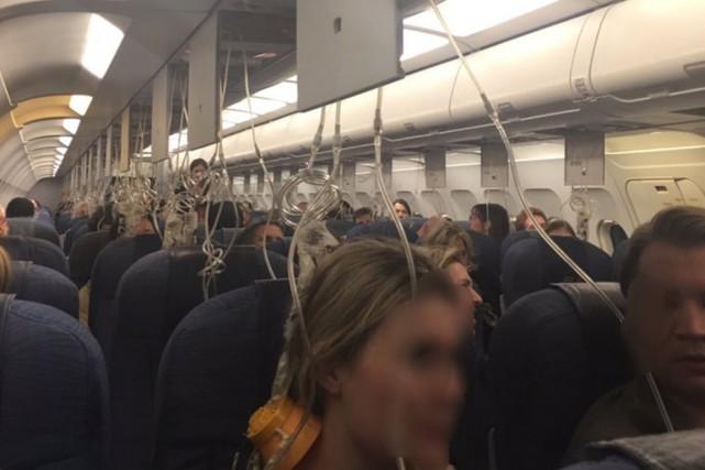 Le pilote a suivi les procédures prévues et... (Photo tirée de Twitter (@miluntesovic))