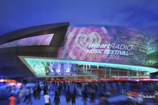 Le T-Mobile Arena, bâti au coût de 375millions$US,... (Photothèque Le Soleil)