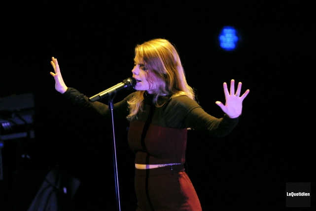 De concerts en concerts, son public s'est élargi. À 25ans, elle a déjà trois... (Mariane L. St-Gelais, Archives Le Quotidien)