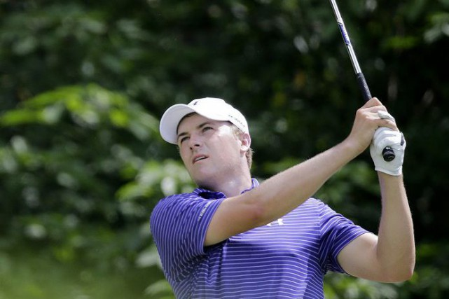 Jordan Spieth... (PHOTO WONG MAYE-E, AP)