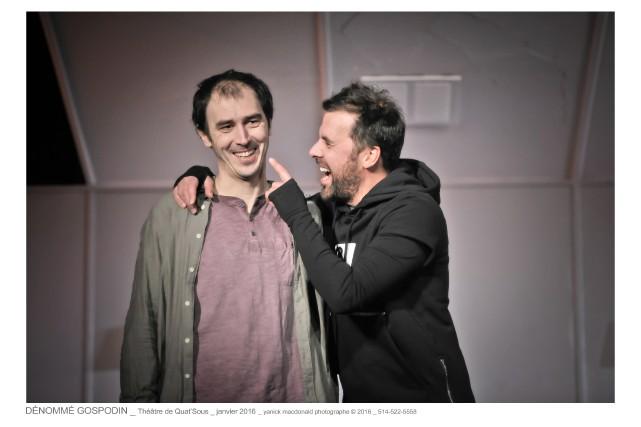 Steve Laplante et Bruno Marcil dansDénommé Gospodin... (Photo Yanick Macdonald, fournie par le Quat'sous)