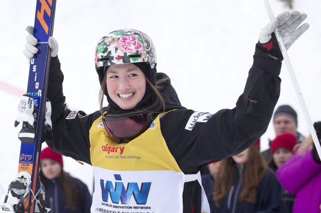 Chloé Dufour-Lapointe... (Photo Larry MacDougal, La Presse Canadienne)