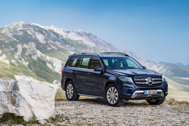 Mercedes GLS... (Photo fournie par Mercedes-Benz)
