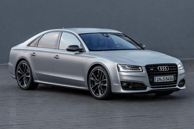 Audi S8... (PHOTO FOURNIE PAR AUDI)