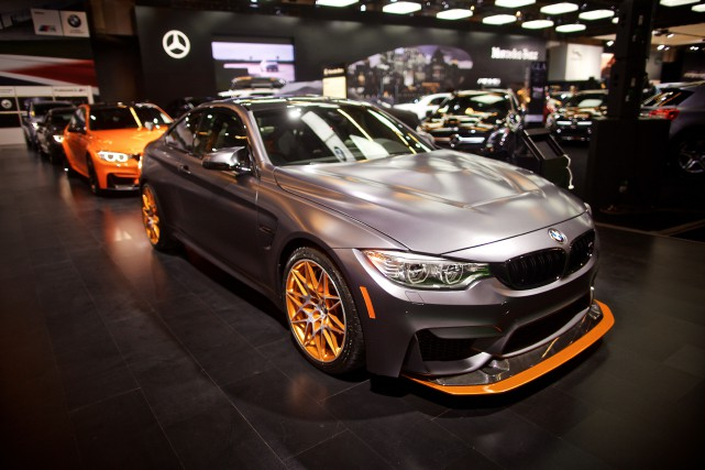 BMW M4 GTS... (PHOTO ANDRÉ PICHETTE, LA PRESSE)