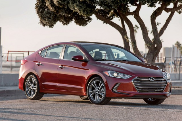 Hyundai Elantra... (PHOTO FOURNIE PAR HYUNDAI)
