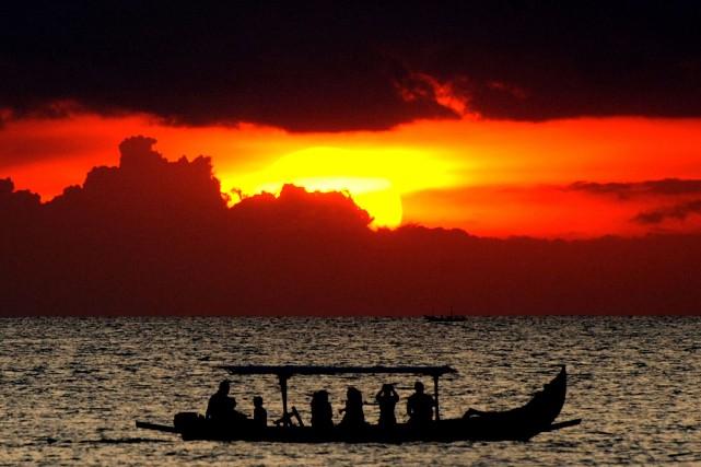 Vue de l'île de Bali. Dans son testament,Bowie... (Archives AFP)