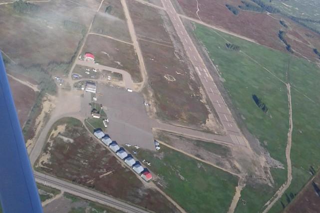 L'aérodrome de Saint-Méthode a besoin d'une réfection.... (Archives Le Progrès-Dimanche)