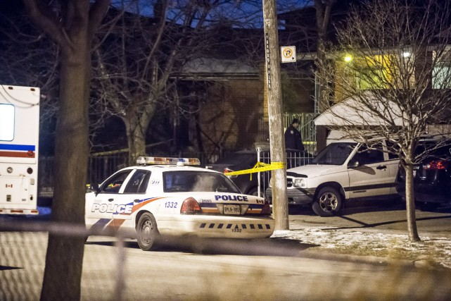 Le suspect, Domenico Scopelliti, 51 ans, s'est rendu... (Photo Victor Biro, La Presse Canadienne)