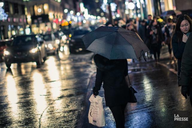 Au Québec, en janvier, les températures ont été... (PHOTO EDOUARD PLANTE-FRÉCHETTE, ARCHIVES LA PRESSE)