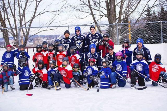 En raison de la température et de l'état des patinoires, l'activité de hockey... (Photo fournie)