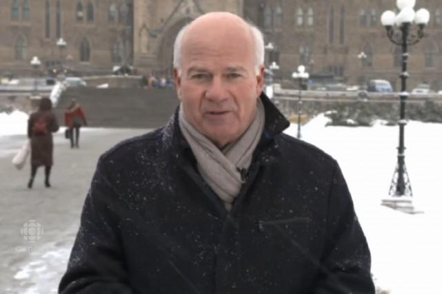Peter Mansbridge, de CBC, cherchait depuis des années,... (Capture d'écran tirée du site Web de CBC)