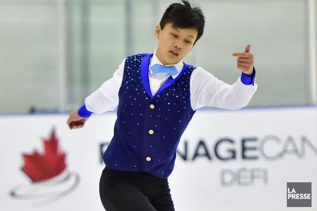 Le patineur artistique d'Aylmer, Joseph Phan... (Courtoisie, Skate Canada)