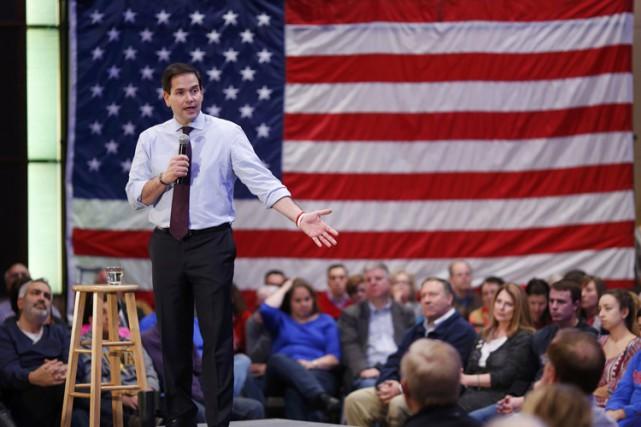 Marco Rubio se présente comme quelqu'un qui peut... (PHOTO AP)