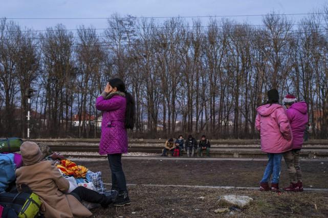 SelonEuropol, plus de 10 000 enfants réfugiés non... (AFP, Armend Nimani)