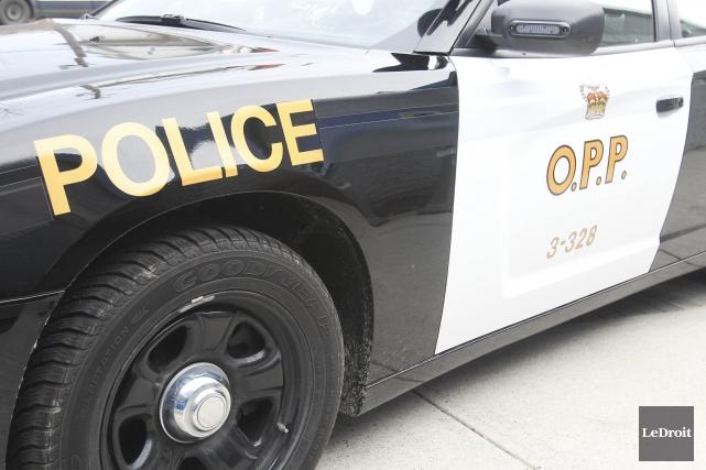 La Police provinciale de l'Ontario (PPO) enquête sur les causes d'une mort... (Patrick Woodbury, Archives LeDroit)