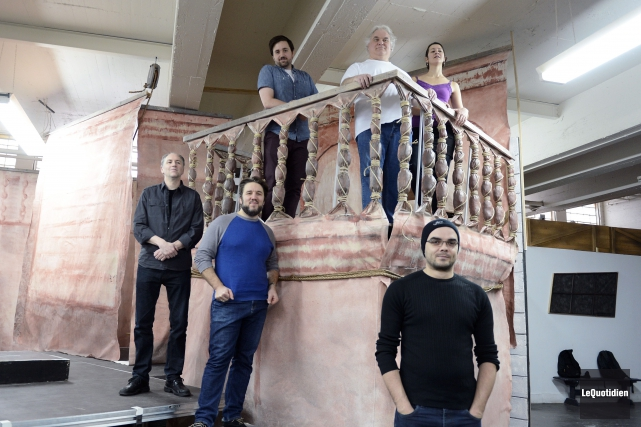 L'opéra Le Barbier de Séville est présenté au... (Archives Le Quotidien, Jeannot Lévesque)