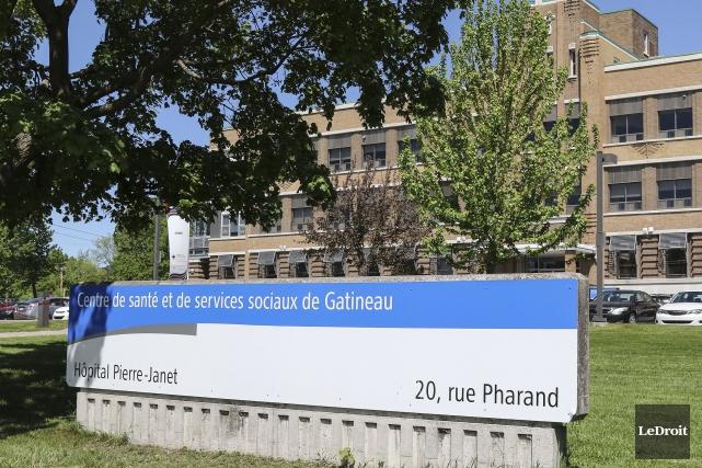 Le centre hospitalier Pierre-Janet... (Patrick Woodbury, Archives LeDroit)