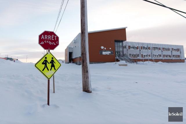 L'école de Puvirnituq n'est pas à l'abri des... (Photothèque Le Soleil)