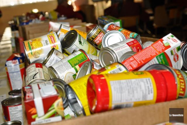 Banques alimentaires Canada estime que plus de 850... (Émilie O'Connor, Archives Le Nouvelliste)