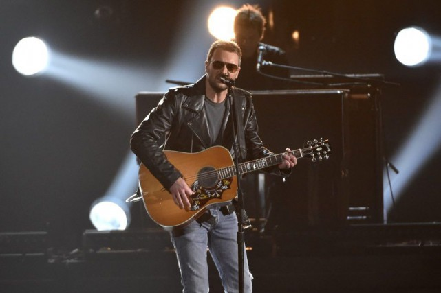 Eric Church pourrait récolter les prix du meilleur chanteur... (Photo  Chris Pizzello, Invision/ Archives AP)