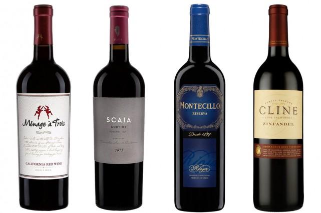 Il y a trop de bons vins sur le marché pour acheter toujours les mêmes. Voici... (PHOTOS FOURNIES PAR LA SAQ)