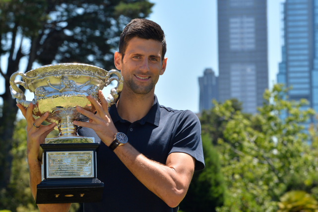 La domination de Novak Djokovic, qui a remporté... (Photo Paul Crock, AFP)