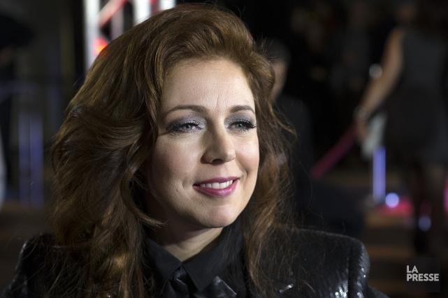 La chanteuse Isabelle Boulay sera la porte-parole officielle du prochain... (Archives, La Presse)