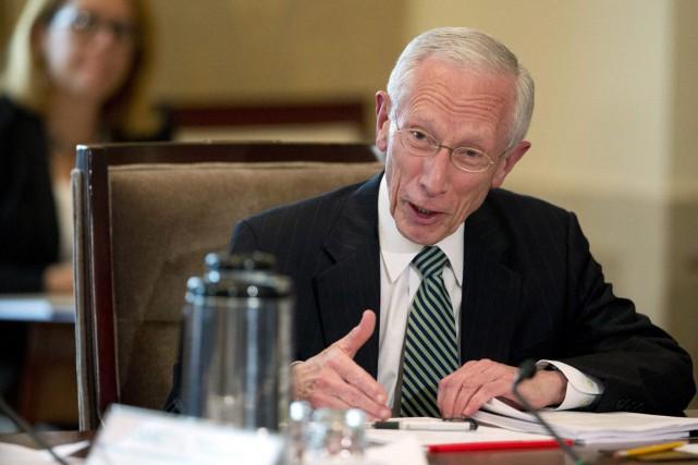 Stanley Fischer, le vice-président de la banque centrale... (Photo Manuel Balce Ceneta, archives AP)