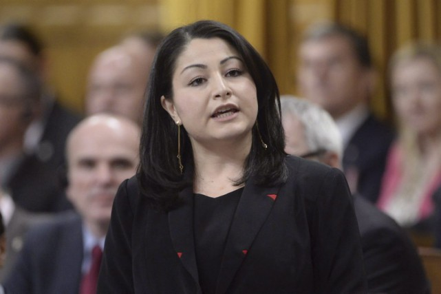 La ministre canadienne des Institutions démocratiques, Maryam Monsef.... (PHOTO Adrian Wyld, PC)