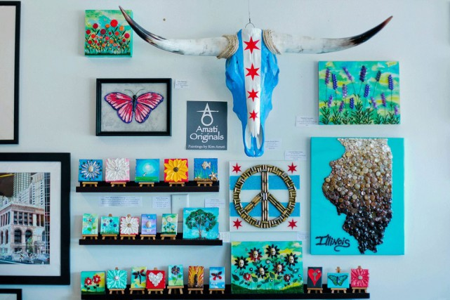La boutique Local Goods Chicago fait partie des... (PHOTO TIRÉE D'ETSY)