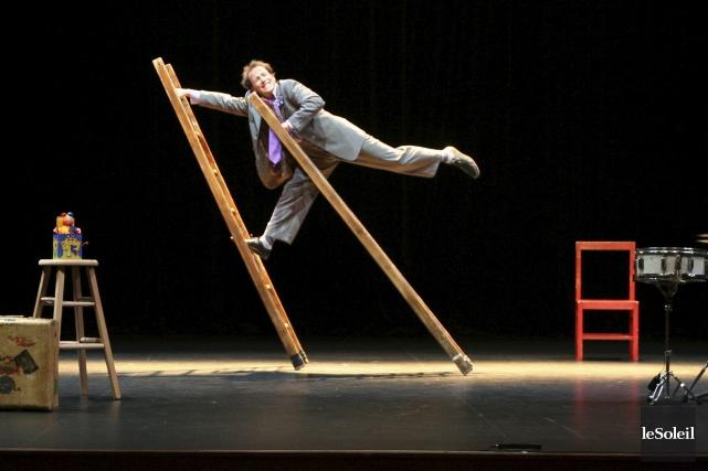 Circus Incognitusfait un retour au Théâtre des Gros... (Photothèque Le Soleil)